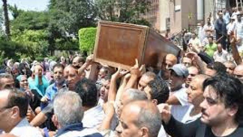 تشييع جنازة ضحية إشتباكات أنصار الإخوان والأمن بأسيوط