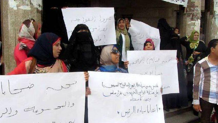 بالصور.. قدامى خريجي التربية ببورسعيد: نحن ضحايا المحسوبية
