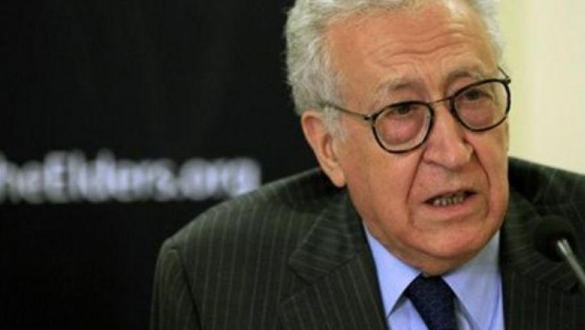 الإبراهيمي: جنيف 2 بداية لحل الأزمة السورية