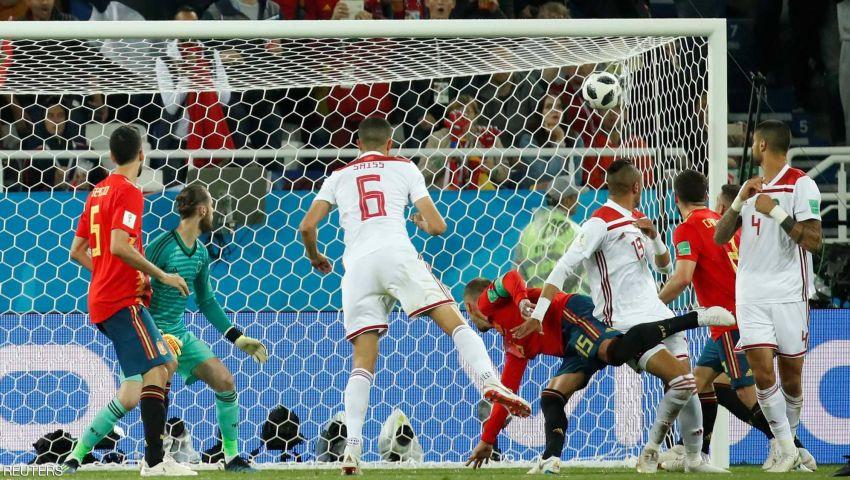فيديو| المغرب تودّع المونديال بشرف.. وإسبانيا تتأهل لثمن النهائي