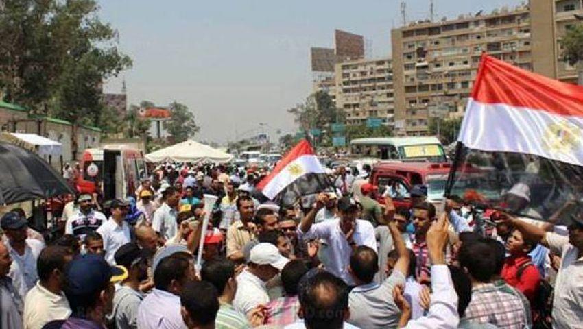 تكثيف اللجان الشعبية باعتصام رابعة خوفا من فضه بالقوة