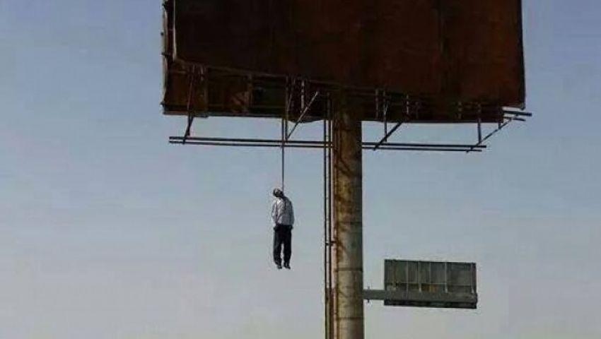 تفاصيل انتحار سائق شنقًا في لوحة إعلانات بالإسماعيلية