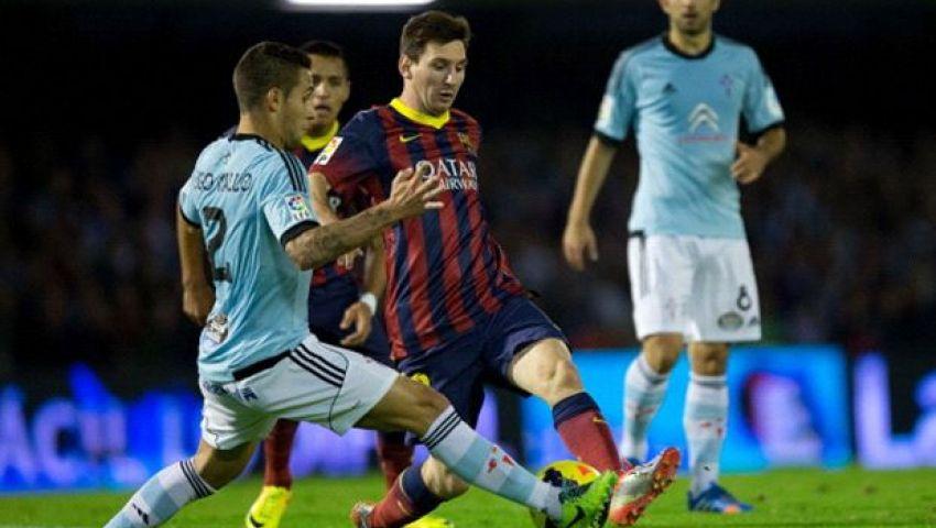 بث مباشر لمباراة برشلونة وسيلنافيجو