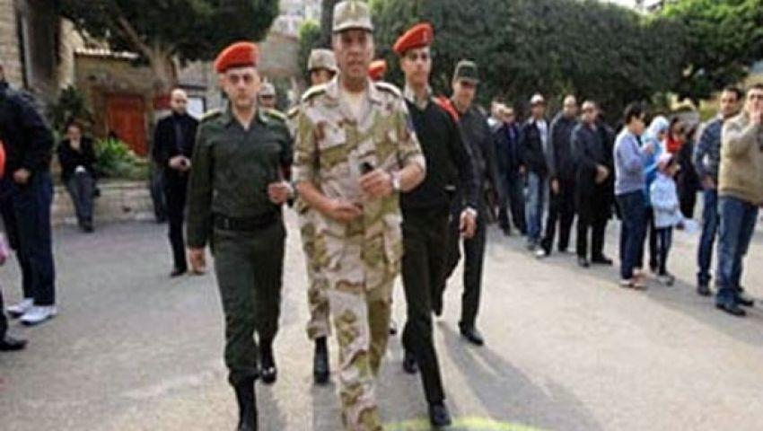 قائد المنطقة المركزية يتفقد التحرير والاتحادية