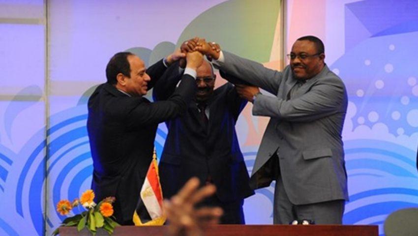 5 دول وراء إعلان المبادئ حول سد النهضة الإثيوبي