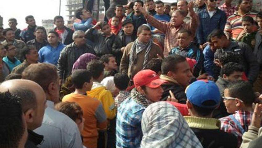 الآلاف يتظاهرون تأييدا لمرسي بكفرالشيخ
