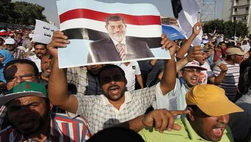 مسيرات تأييد لمرسي تجوب شوارع بني سويف