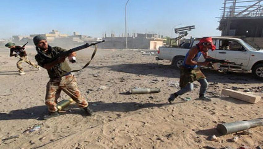 مقتل خمسة وإصابة 97 في اشتباكات بليبيا
