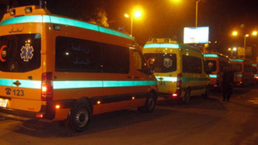 إصابة 9 من رجال الجيش فى حادث تصادم  بالإسماعيلية