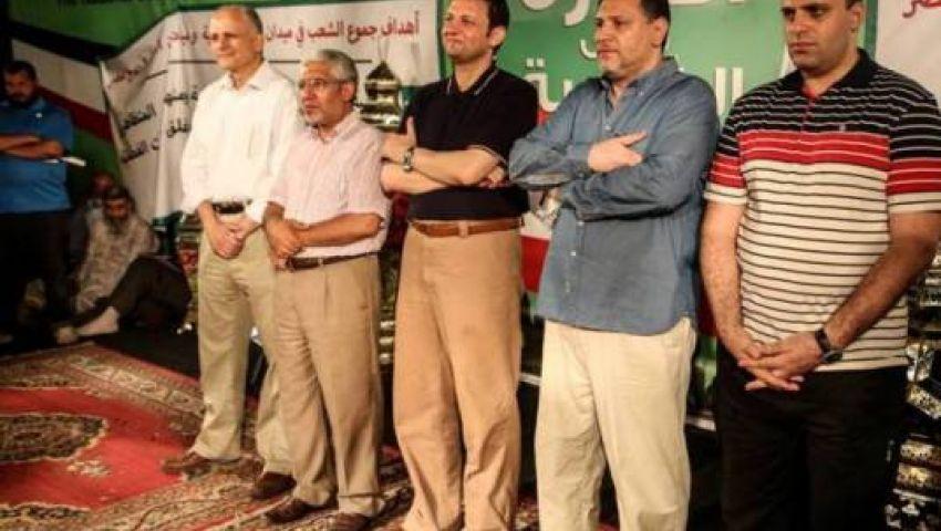 مؤتمر بـرابعة العدوية لإعلان فعاليات إسقاط الانقلاب