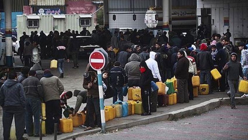 أزمة الوقود تشلّ مرافق الحياة في غزة