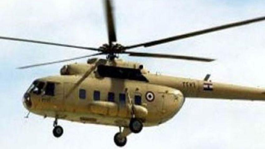 طائرة هليكوبتر أطلقت النار على سيارات مؤيدي مرسي