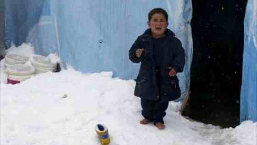 الأطباء العرب: مليون دولار لإغاثة اللاجئين المتضررين من العواصف الثلجية