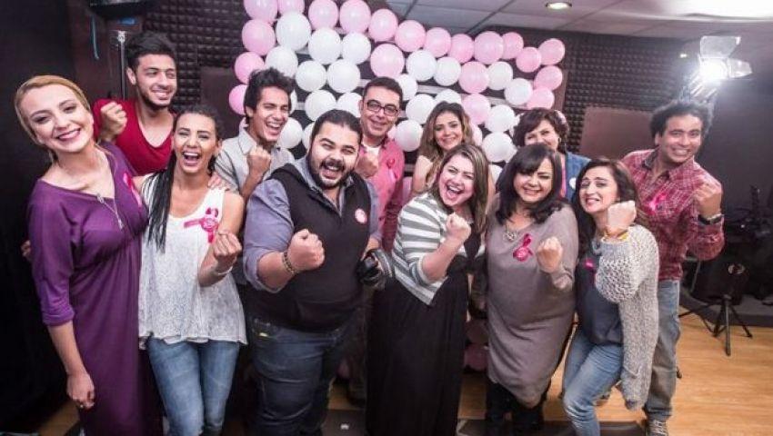 وليد عبد المنعم يحتفل بـ لسه جميلة