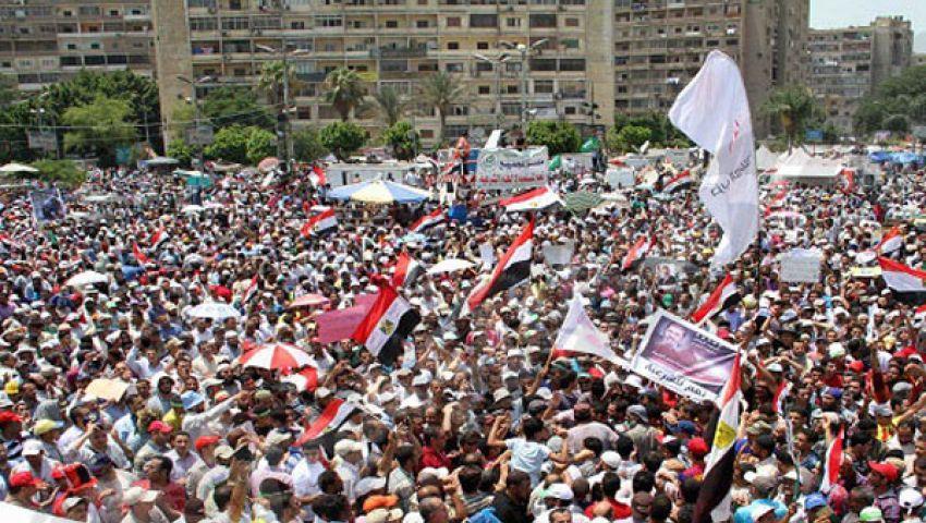 استعدادات لمليونية الصمود لتأييد مرسي
