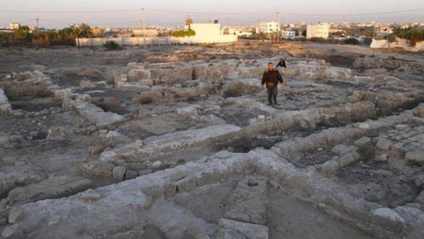 دير القديس هيلاريون بغزة يقاوم الاندثار