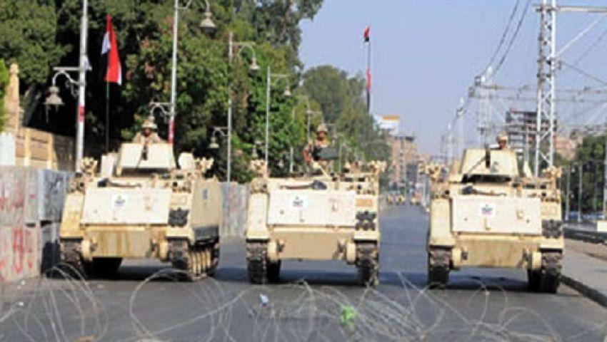 القوات المسلحة  تعزز تأمينها لقصر الإتحادية ووزارة الدفاع