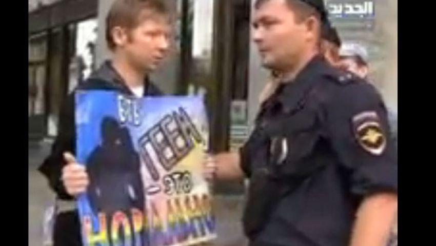 بالفيديو.. الشرطة تعتقل 6 أشخاص بتهمة التحريض الجنسي بروسيا