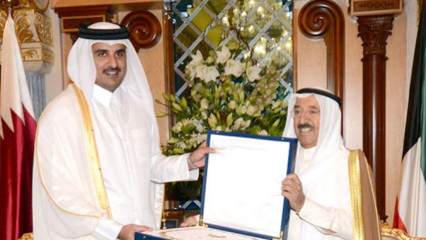 وساطة كويتية للصلح بين السعودية وقطر