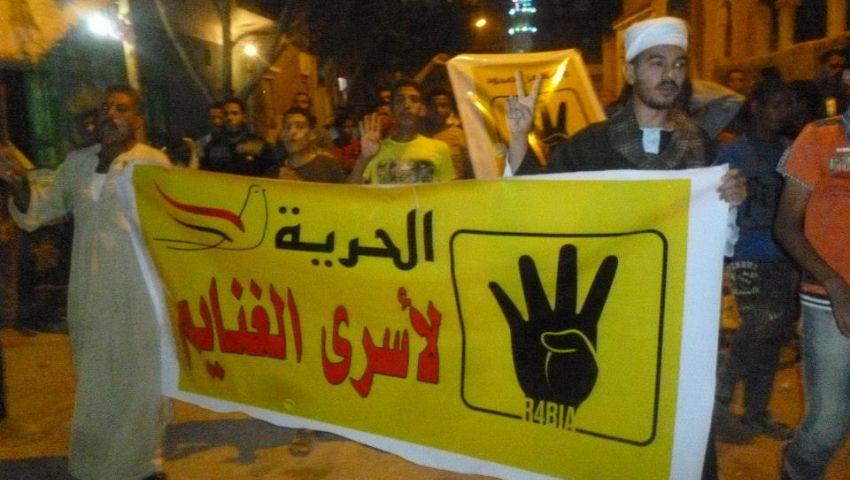 اشتباكات بين أهالى الغنايم والإخوان بمسيرة بأسيوط