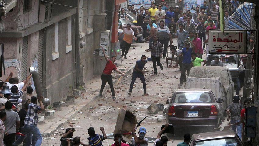 إصابة 85 في اشتباكات بين مسلحين ومؤيدي مرسي بـالأربعين