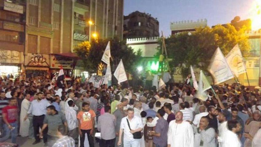 مسيرة بالآلاف في أسيوط لتأييد مرسي