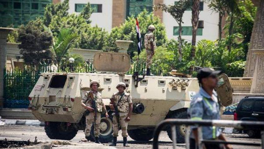 تشديد الأمن بمحيط الداخلية والشعب والشورى والوزراء