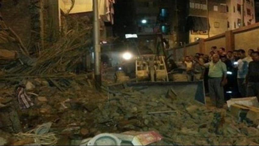 رفع حالة الطوارئ بمستشفى بولاق أبو العلا بعد انهيار 3عقارات