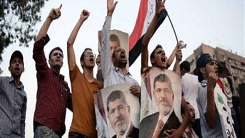 وقفة لأنصار مرسي بمدينة السادات