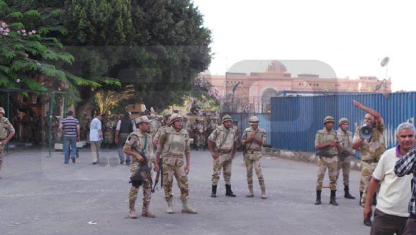 بالصور..الشرطة العسكرية تؤمّن مداخل ميدان التحرير