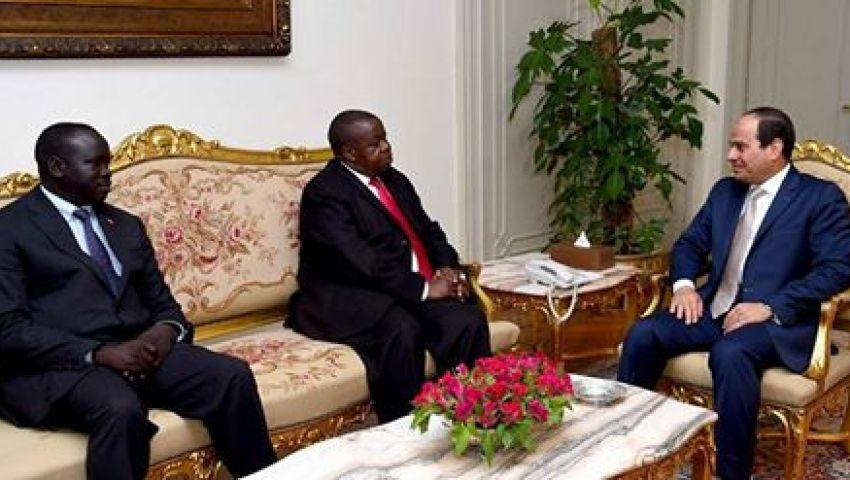 السيسي يستقبل وزير العدل والشؤون الدستورية بأوغندا
