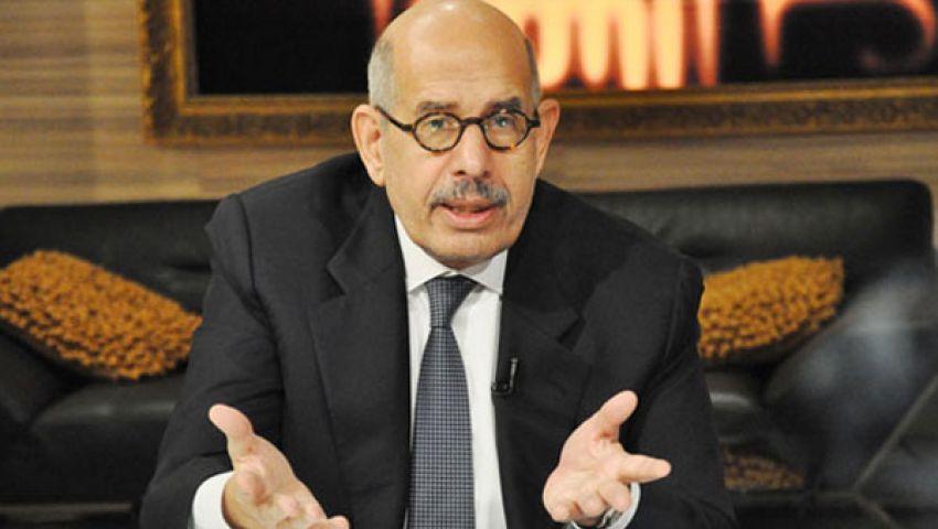 البرادعي: المجلس العسكري كان يريد وصولشفيق للحكم