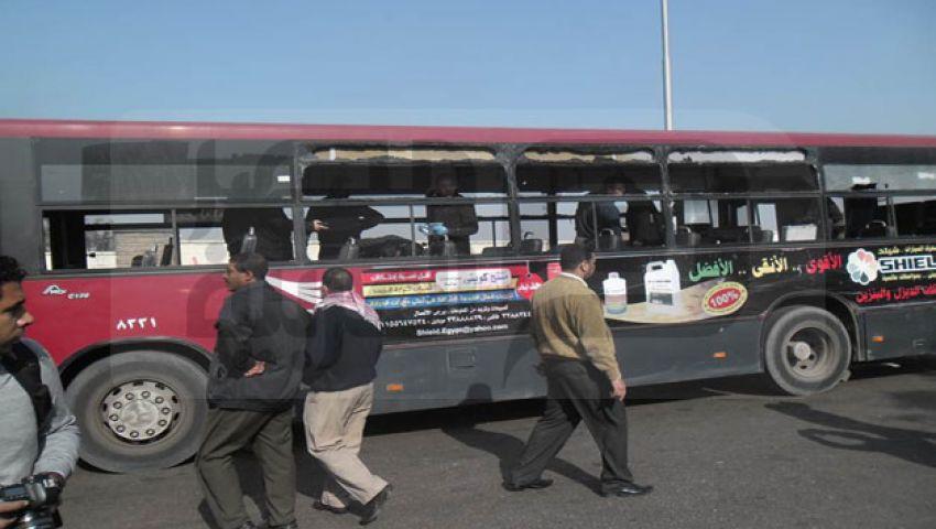 بث مباشر لتغطية حادث تفجير حافلة «مدينة نصر»