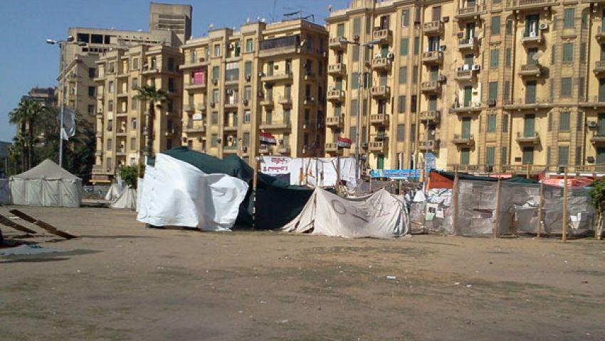 32 خيمة اعتصام بميدان التحرير