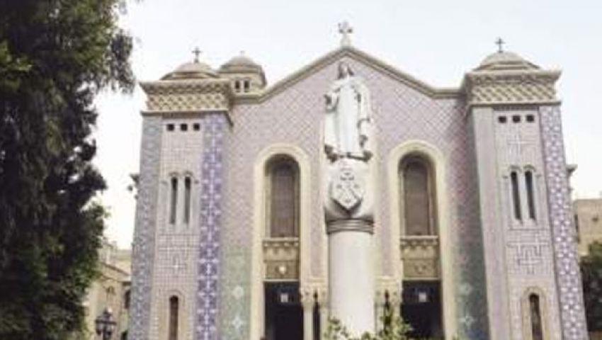 تأمين محيط كنيسة الأنبا شنودة بالغردقة