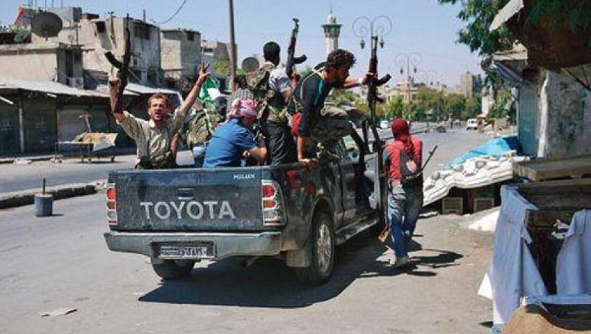 الجيش الحر يستهدف مقر مخابرات الأسد في حلب