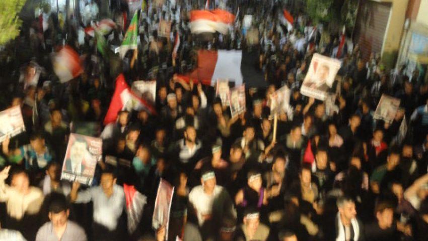 الآلاف في مسيرة حاشدة بمليونية الفرقان بأسيوط