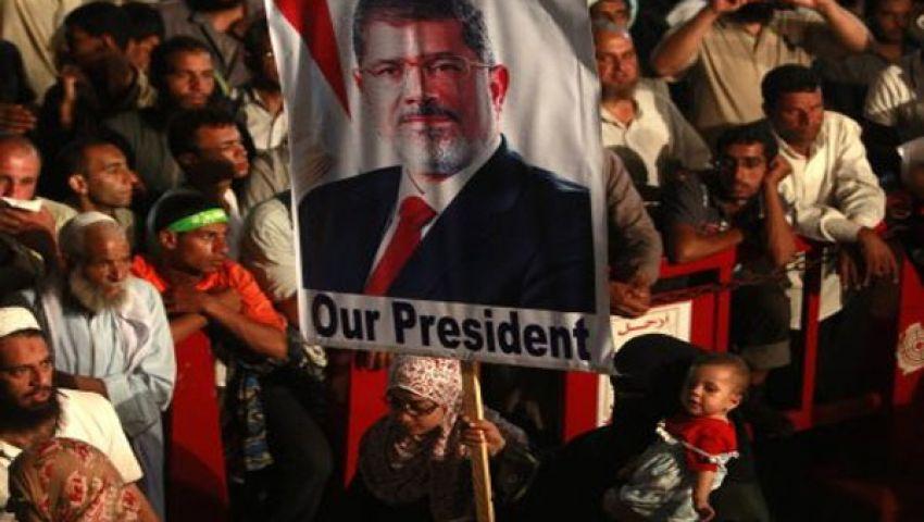 اعتقال متظاهرين ضد مجزرة رابعة في رام الله