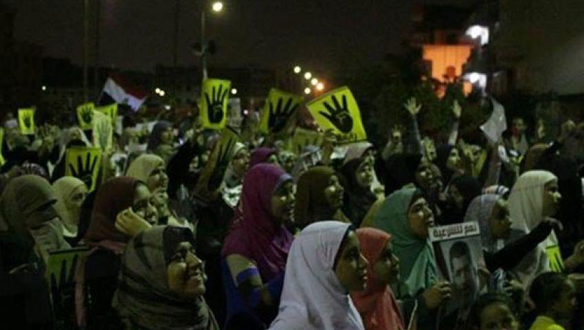 فيديو.. مسيرات ليلية لمؤيدي الشرعية بشمال سيناء