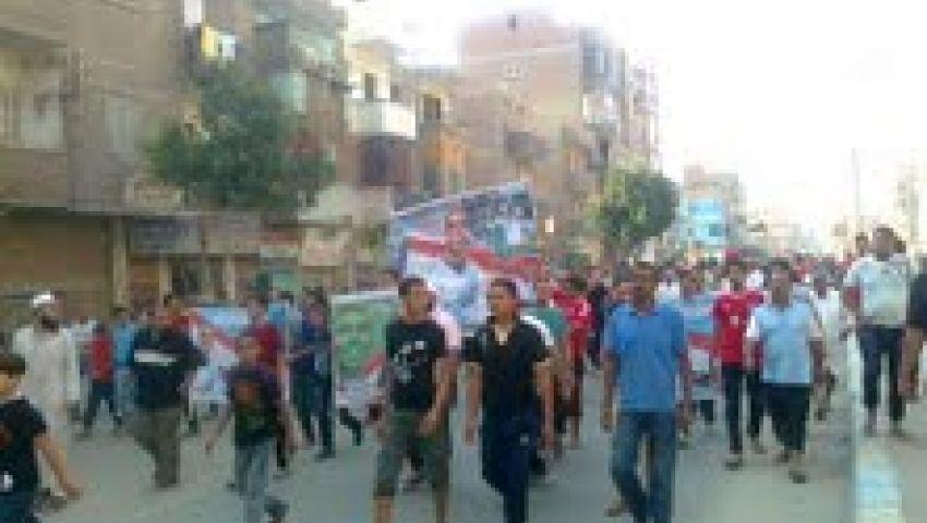 بالفيديو.. تشييع جثمان شهيد الشرعية بالإسماعيلية