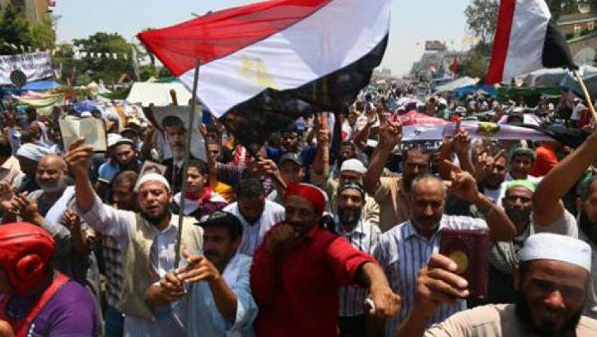 مؤيدو مرسي يصلون الجمعة بالجيزة استعدادا لمليونية الفرقان