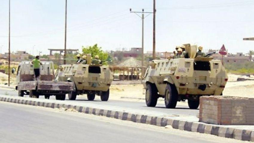 توقيف 3 مسلحين فلسطينيين حاولوا مهاجمة مناطق بسيناء