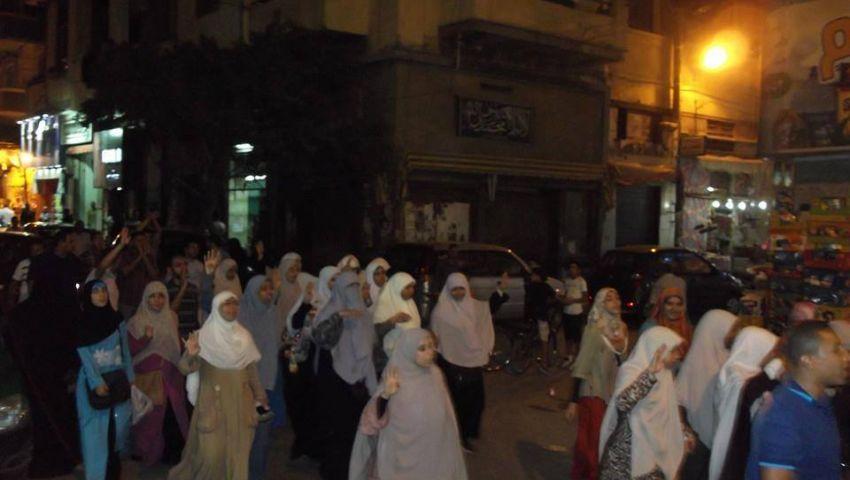 مسيرات ليلية بالإسكندرية تحت شعار لا لبيع مصر