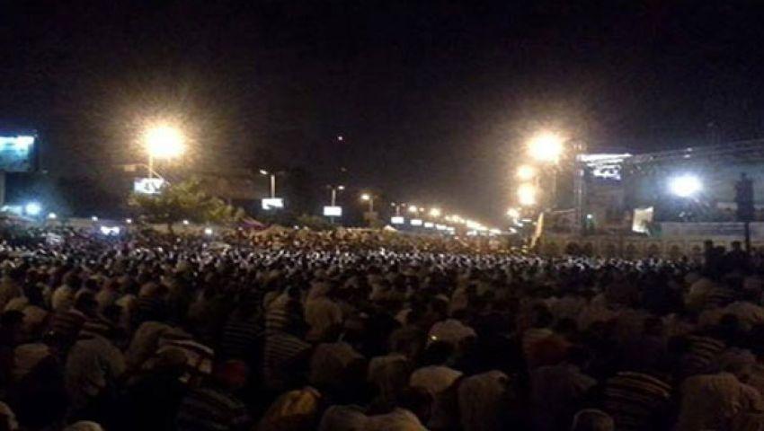 نشطاء يدشنون كلنا مصر للإفطار مع أنصار مرسى