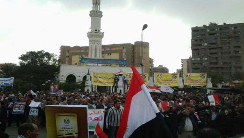 خطيب رابعة العدوية: اللهم اهدِ المتمردين.. وشرعية مرسي خط أحمر