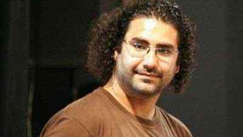 بلاغ يتهم علاء عبد الفتاح بسب وقذف السيسي