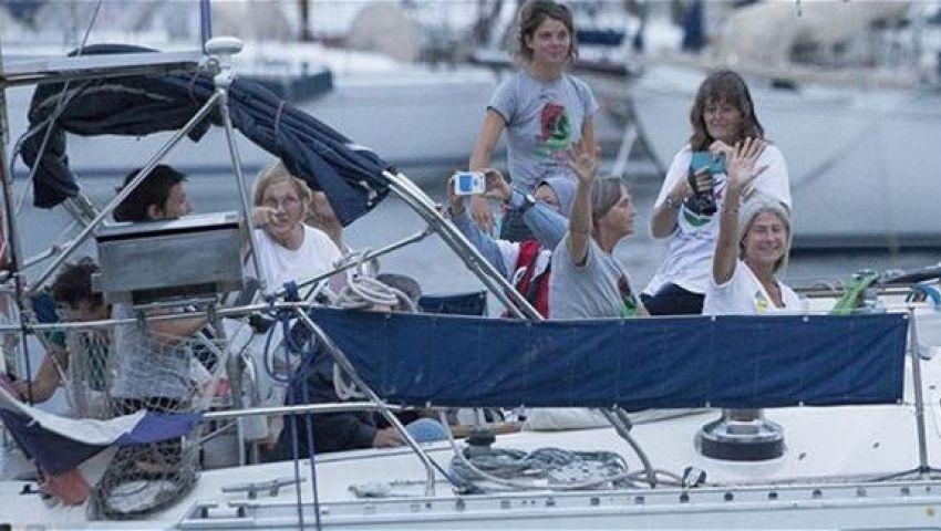 دعوات فلسطينية لحماية دولية لقوارب زيتونة وأمل 2 النسائية