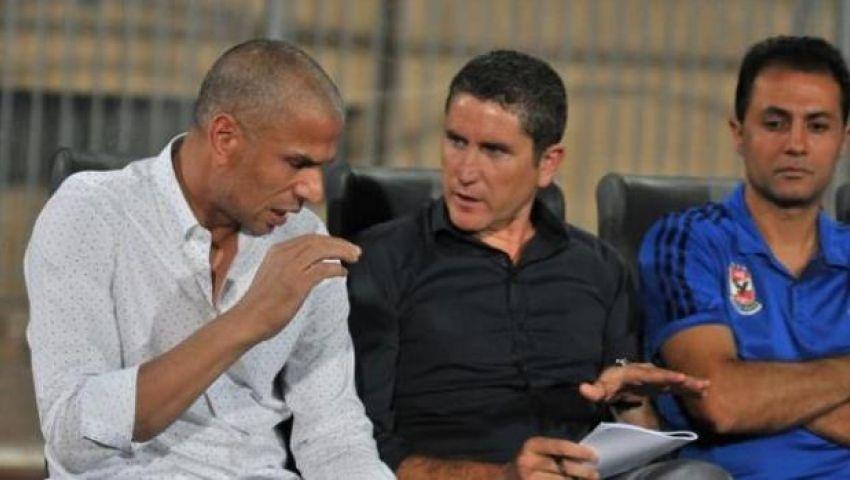 جاريدو يتهم لاعبي الأهلي بالتقصير أمام الأسيوطي