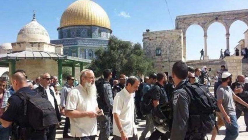 باقتحامات جماعية.. اليهود يدنسون باحات الأقصى في رمضان