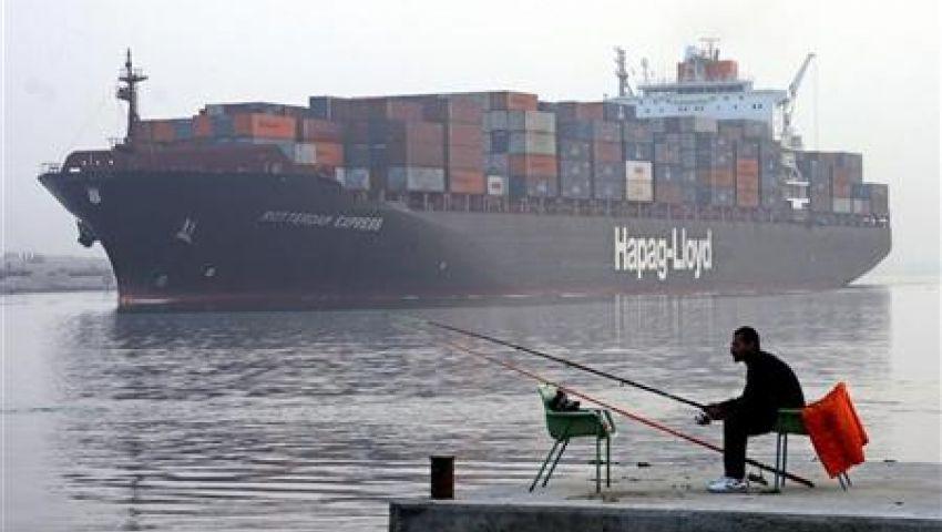 مرور 46 سفينة بقناة السويس اليوم
